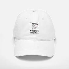Think Outside The Box Baseball Baseball Cap