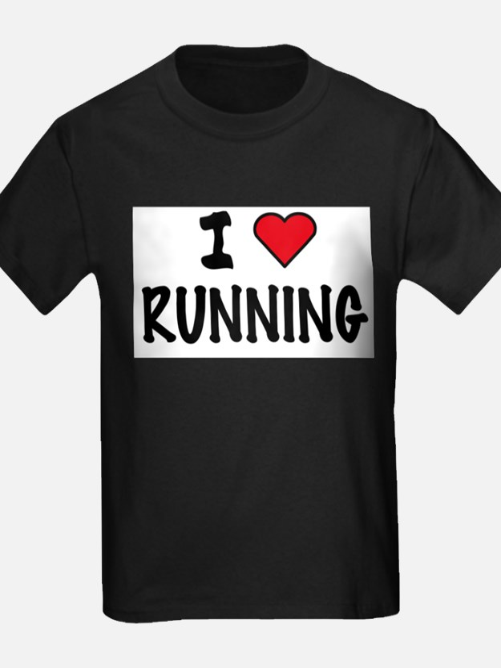 Cute I love running T