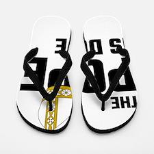 The Pope Is Dope Flip Flops