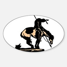 End Of Trail New Version Oval Decal
