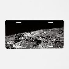 Cute Apollo 11 Aluminum License Plate