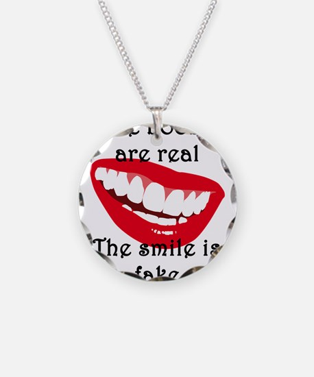 The boobs are real The smile Necklace