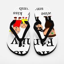 The Ass Family Flip Flops