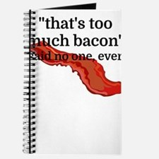 That's too much bacon - said no one, ever Journal