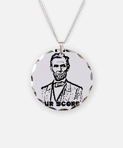That Is So Four Score & Seve Necklace Circle Charm