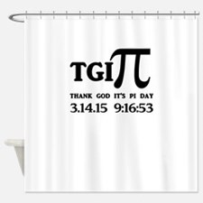 TGI PI Shower Curtain
