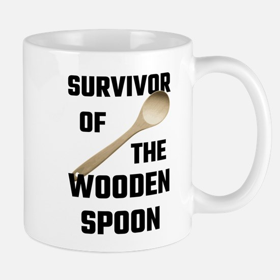 Survivor Of The Wooden Spoon Mugs