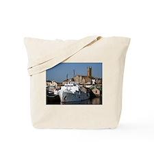 Ship, Penzance, England Tote Bag