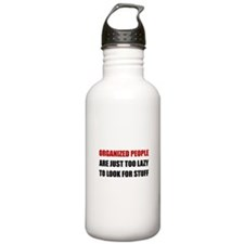 Organized People Water Bottle
