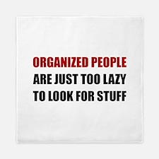 Organized People Queen Duvet