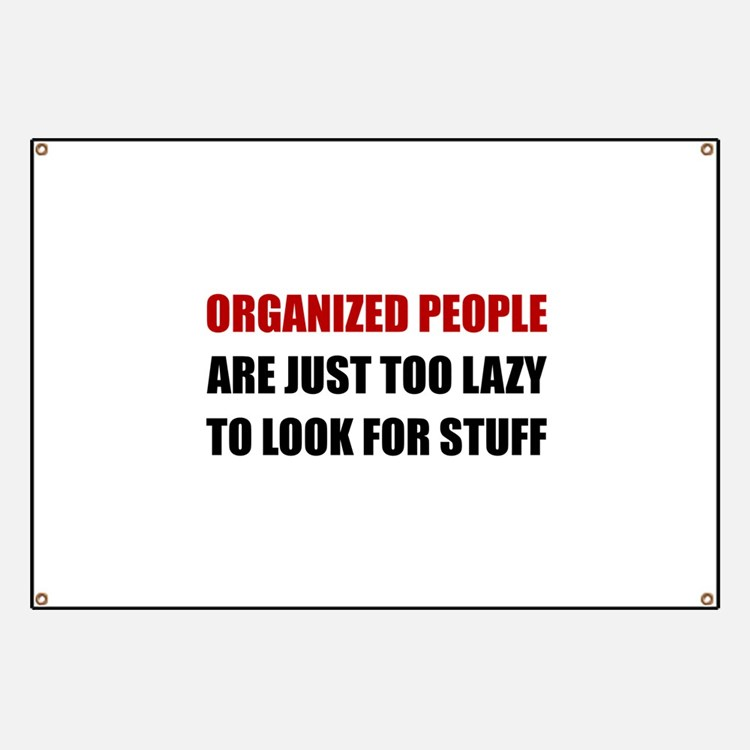 Organized People Banner