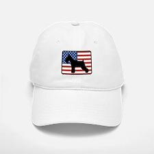 American Standard Schnauzer Baseball Baseball Cap
