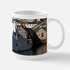 Ship, Penzance, England Mugs