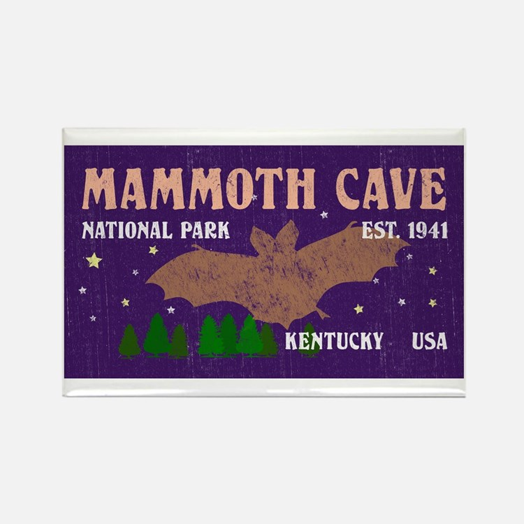 Cute Mammoth cave national park Rectangle Magnet