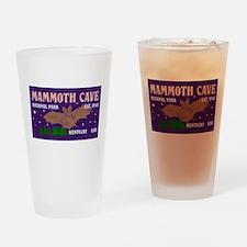 Mammoth Cave Bats Night Sky Nationa Drinking Glass