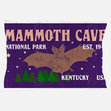 Mammoth Cave Bats Night Sky National P Pillow Case
