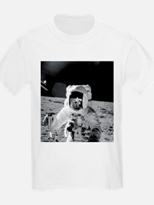 Apollo12 Moon Portrai T-Shirt