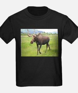 Alaskan moose with antlers 2 T-Shirt