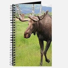 Alaskan moose with antlers 2 Journal
