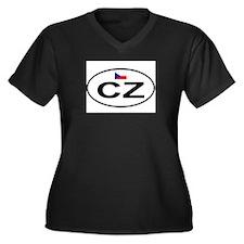 Czech.png Plus Size T-Shirt