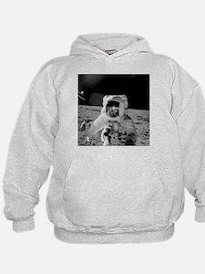 Apollo 12 Astronauts explore the Moon Hoodie