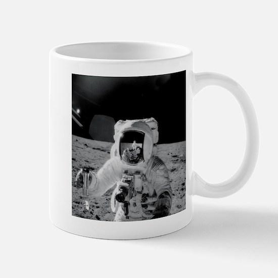 Apollo 12 Astronauts explore the Moon Mugs