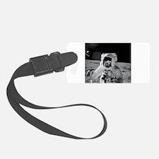 Apollo 12 Astronauts explore the Luggage Tag