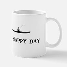 Oh Happy Day Kayak Fishing Mugs