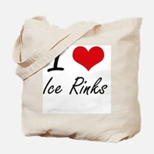 I love Ice Rinks Tote Bag