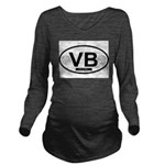VB4.png Long Sleeve Maternity T-Shirt