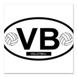 VB4.png Square Car Magnet 3