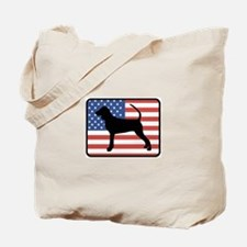 American Black and Tan Coonho Tote Bag