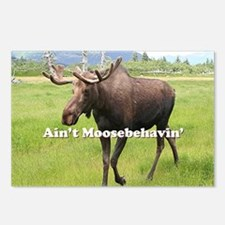 Ain't Moosebehavin' Alask Postcards (Package of 8)