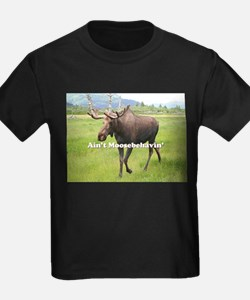 Ain't Moosebehavin' Alaskan Moose T-Shirt