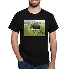Ain't Moosebehavin' Alaskan Moose T-Shirt