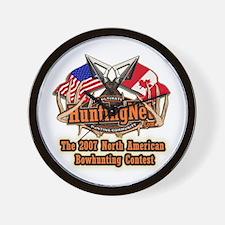 HNI 2007 bowhunting contest Wall Clock