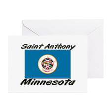 Saint Anthony Minnesota Greeting Cards (Pk of 10)