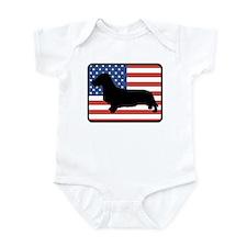 American Wirehair Dachshund Infant Bodysuit