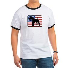 American Wire Fox Terrier T