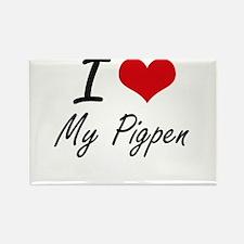 I love My Pigpen Magnets