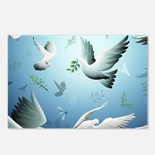 Beautiful Doves Postcards (Package of 8)