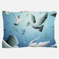 Beautiful Doves Pillow Case