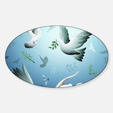 Beautiful Doves Decal
