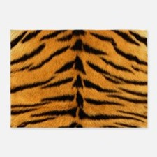 Tiger Fur 5'x7'Area Rug