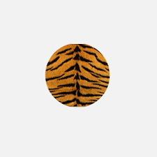 Tiger Fur Mini Button