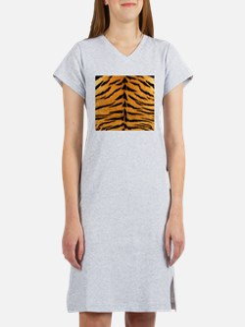 Tiger Fur Women's Nightshirt