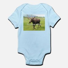 Don't moose with me Alaskan moose 2 Body Suit