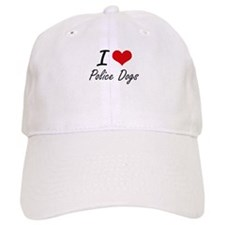 I love Police Dogs Cap
