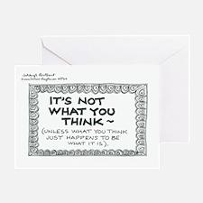 8764 Greeting Card
