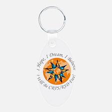 I Hope I Dream I Believe I will be Keychains